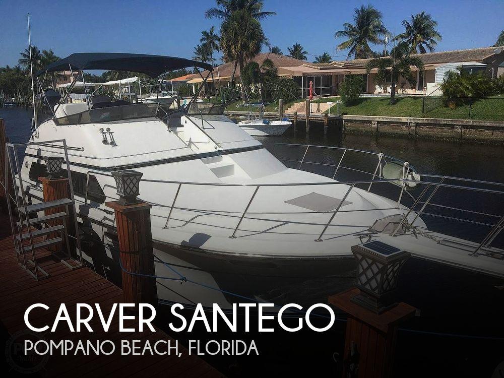 Used Carver Santego Boats For Sale by owner   1990 38 foot Carver Santego
