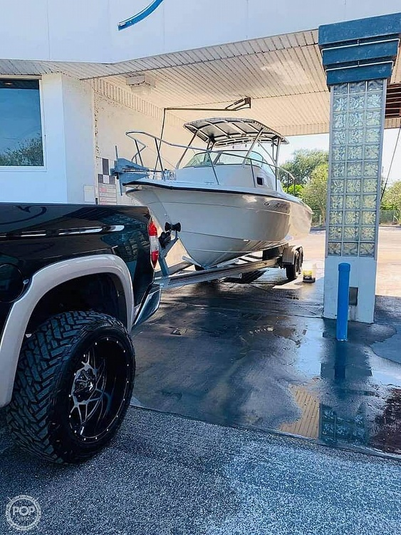 2000 Hydra-Sports boat for sale, model of the boat is Seahorse 230 Walk Around & Image # 4 of 40