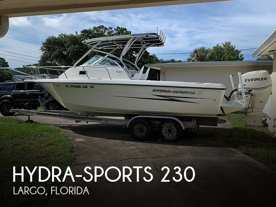 2000 Hydra-Sports boat for sale, model of the boat is Seahorse 230 Walk Around & Image # 1 of 40