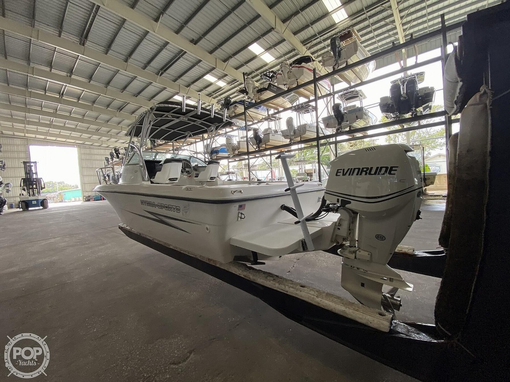 2000 Hydra-Sports boat for sale, model of the boat is Seahorse 230 Walk Around & Image # 9 of 40