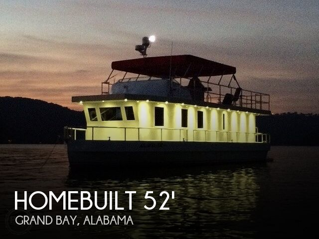 Used Houseboats For Sale in Alabama by owner | 2013 52 foot Homebuilt Coastal Cruiser