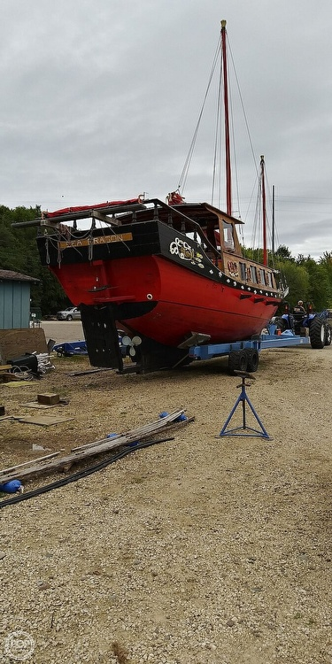 1967 Chinese Junk boat for sale, model of the boat is 36 & Image # 34 of 40