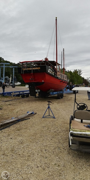 1967 Chinese Junk boat for sale, model of the boat is 36 & Image # 35 of 40