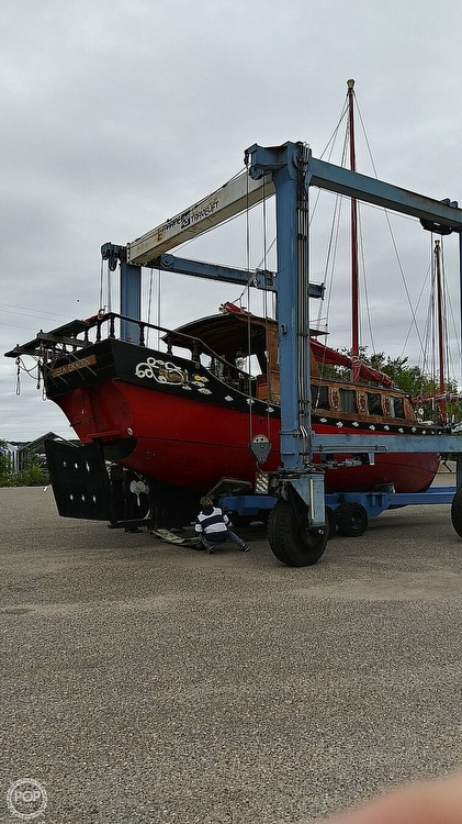 1967 Chinese Junk boat for sale, model of the boat is 36 & Image # 37 of 40