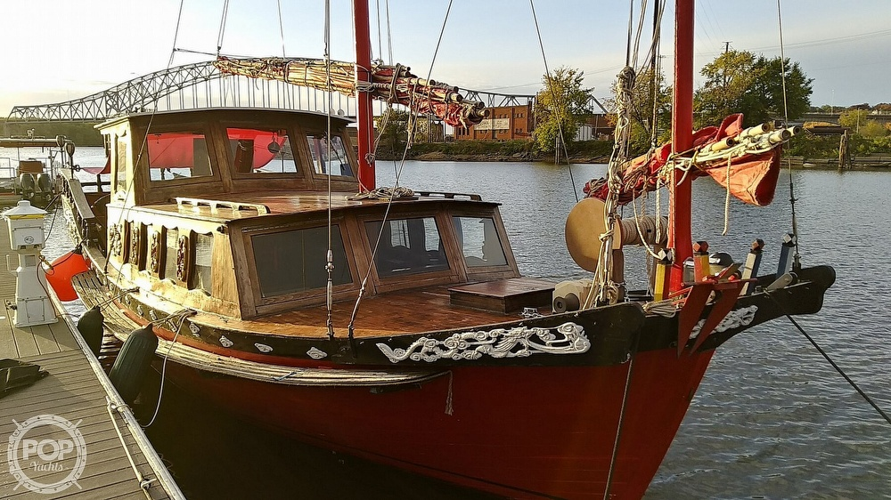 1967 Chinese Junk boat for sale, model of the boat is 36 & Image # 2 of 40