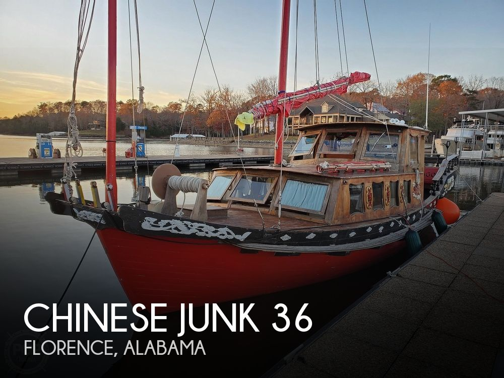 1967 Chinese Junk boat for sale, model of the boat is 36 & Image # 1 of 40