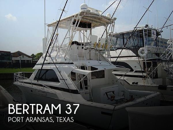 Used BERTRAM Fishing boats For Sale by owner | 1989 Bertram 37 SportFish