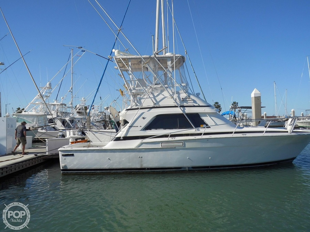 1989 Bertram boat for sale, model of the boat is 37 SportFish & Image # 9 of 40