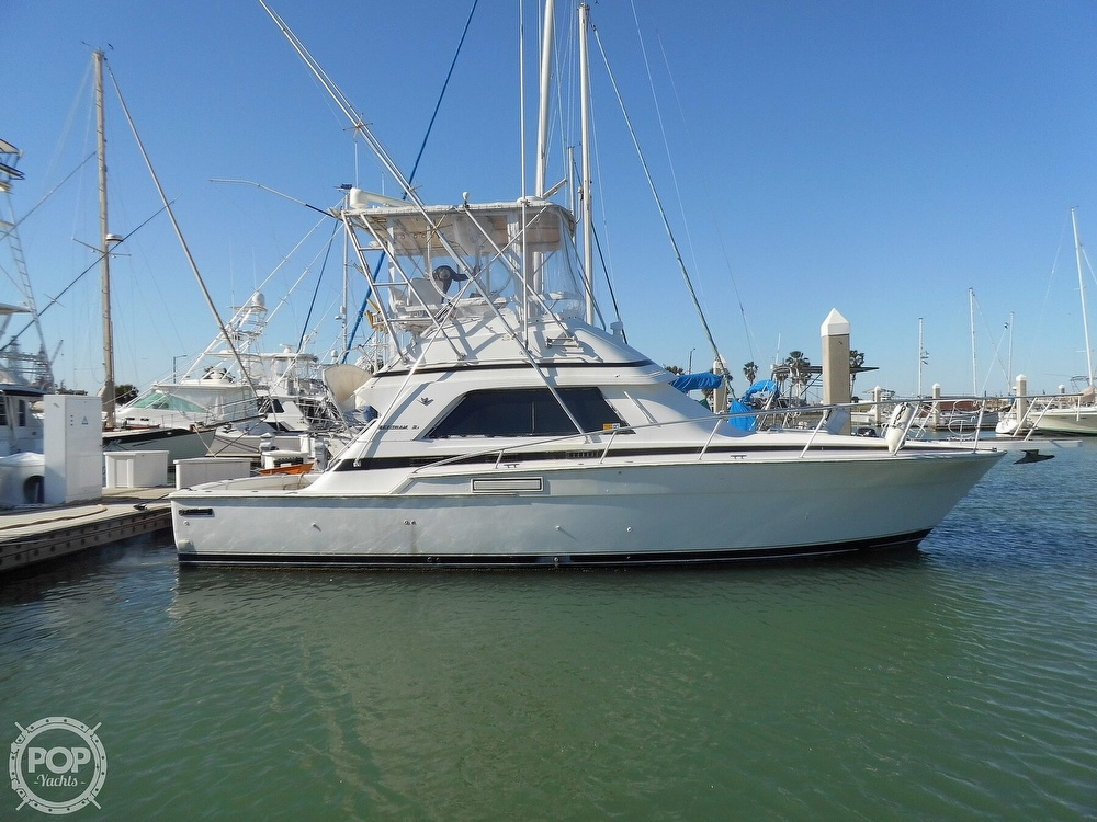 1989 Bertram boat for sale, model of the boat is 37 SportFish & Image # 10 of 40