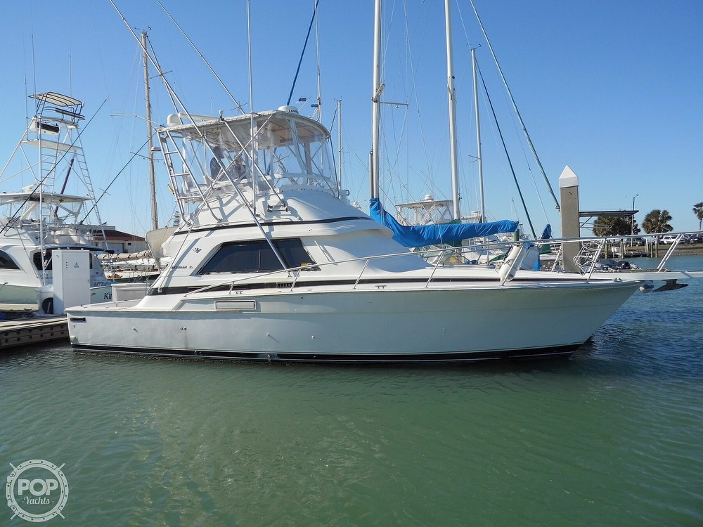 1989 Bertram boat for sale, model of the boat is 37 SportFish & Image # 12 of 40