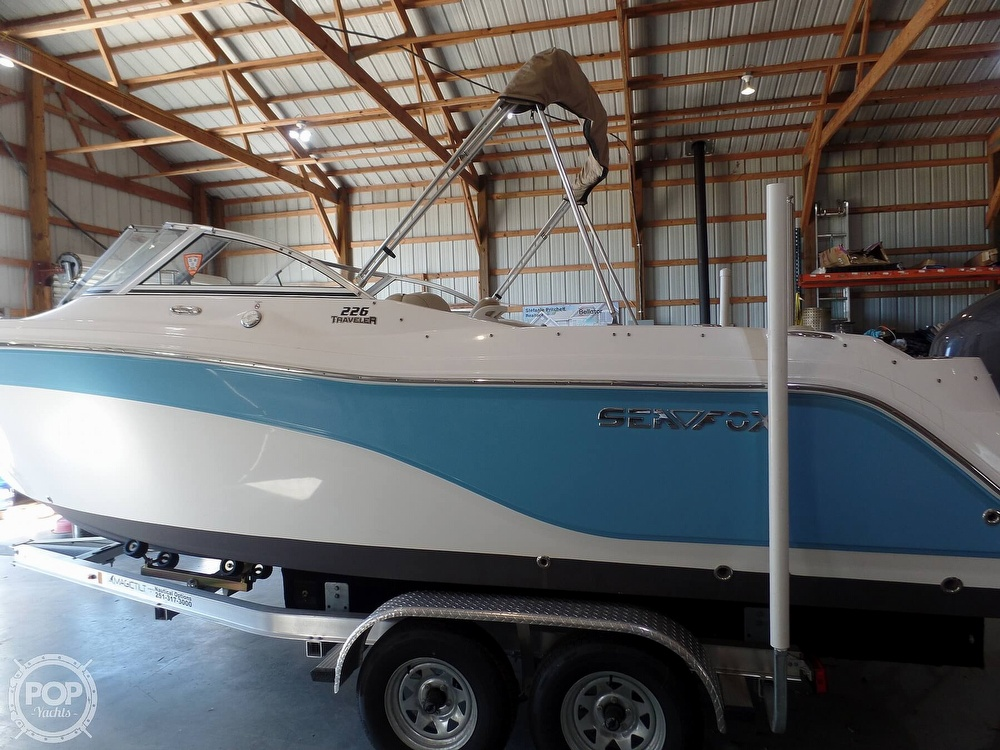 2017 Sea Fox boat for sale, model of the boat is 226 Traveler & Image # 17 of 40