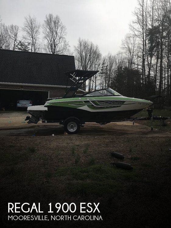 Used Regal 19 Boats For Sale by owner | 2017 Regal 1900 ESX