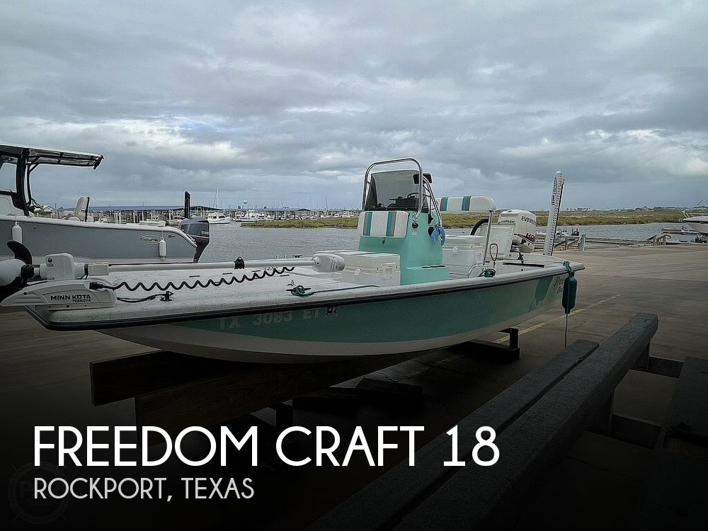 2020 Freedom Craft boat for sale, model of the boat is 18 Patriot & Image # 1 of 40