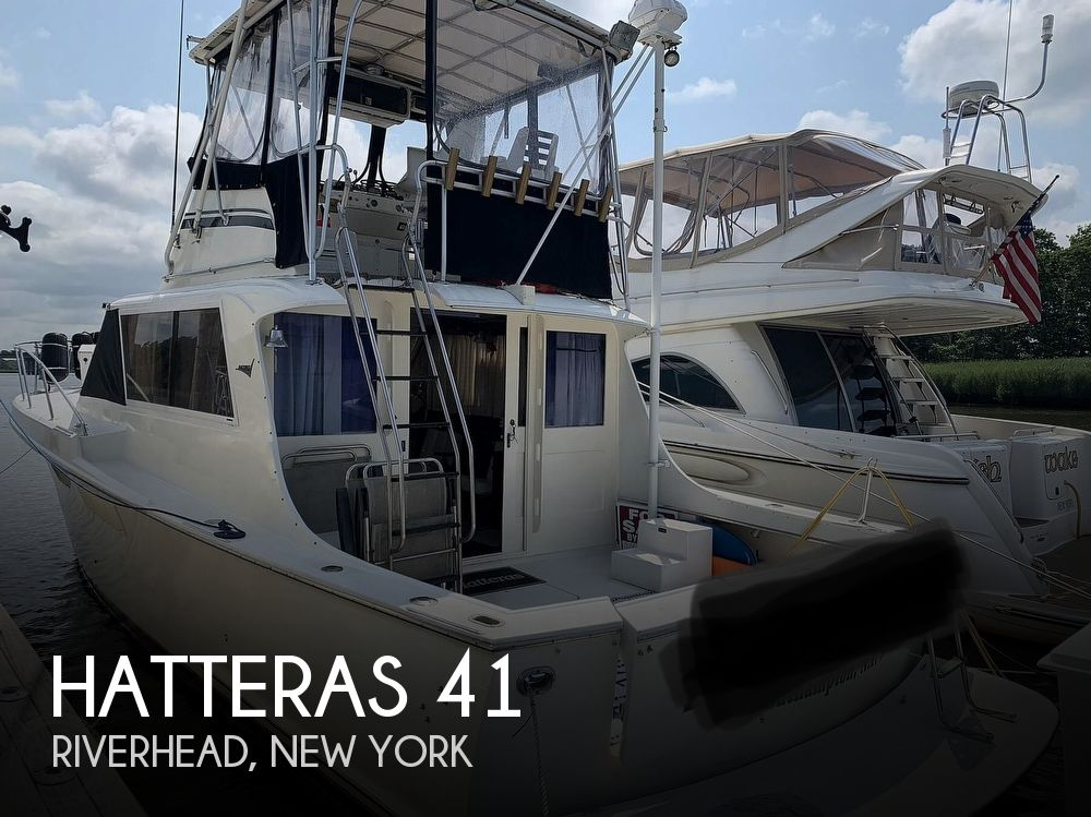 1969 Hatteras boat for sale, model of the boat is 41 Sportfish & Image # 1 of 40