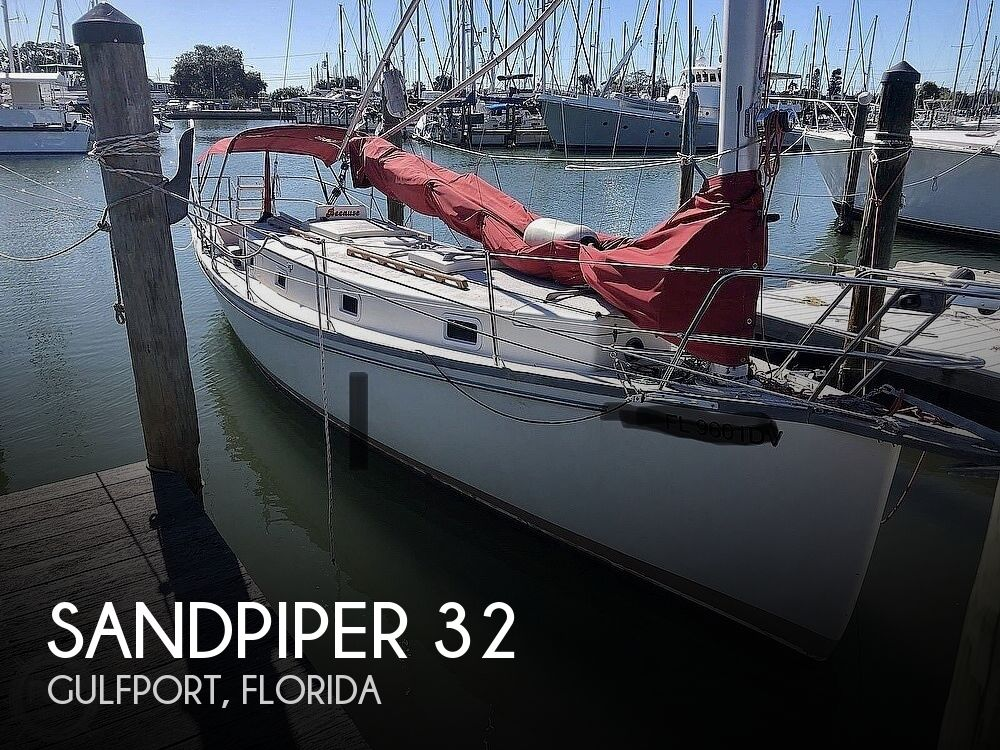 1979 Sandpiper boat for sale, model of the boat is 32 & Image # 1 of 40