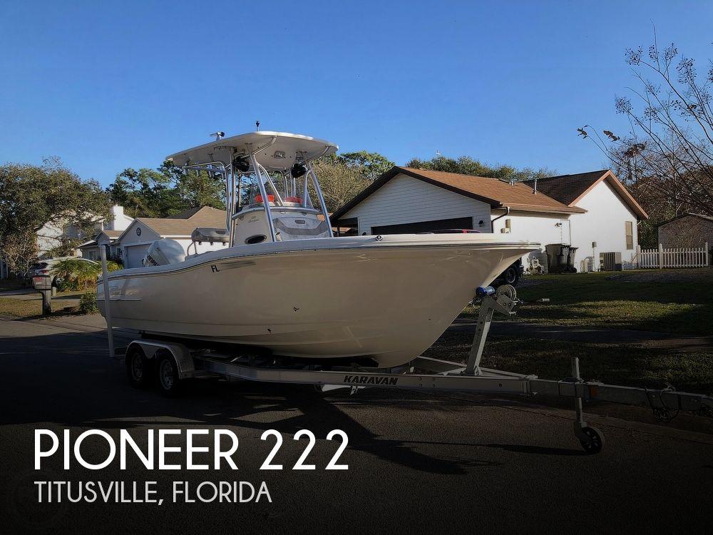 2012 PIONEER SF222 SPORTFISH for sale