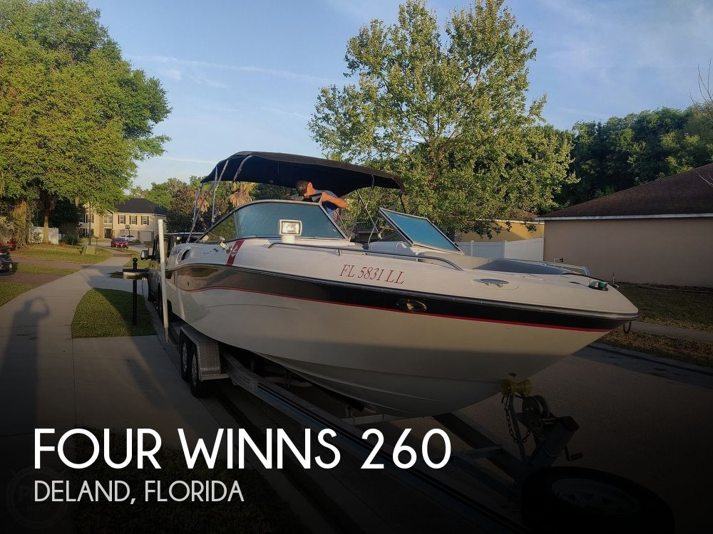 Used Four Winns 26 Boats For Sale by owner | 2001 Four Winns 260 Horizon