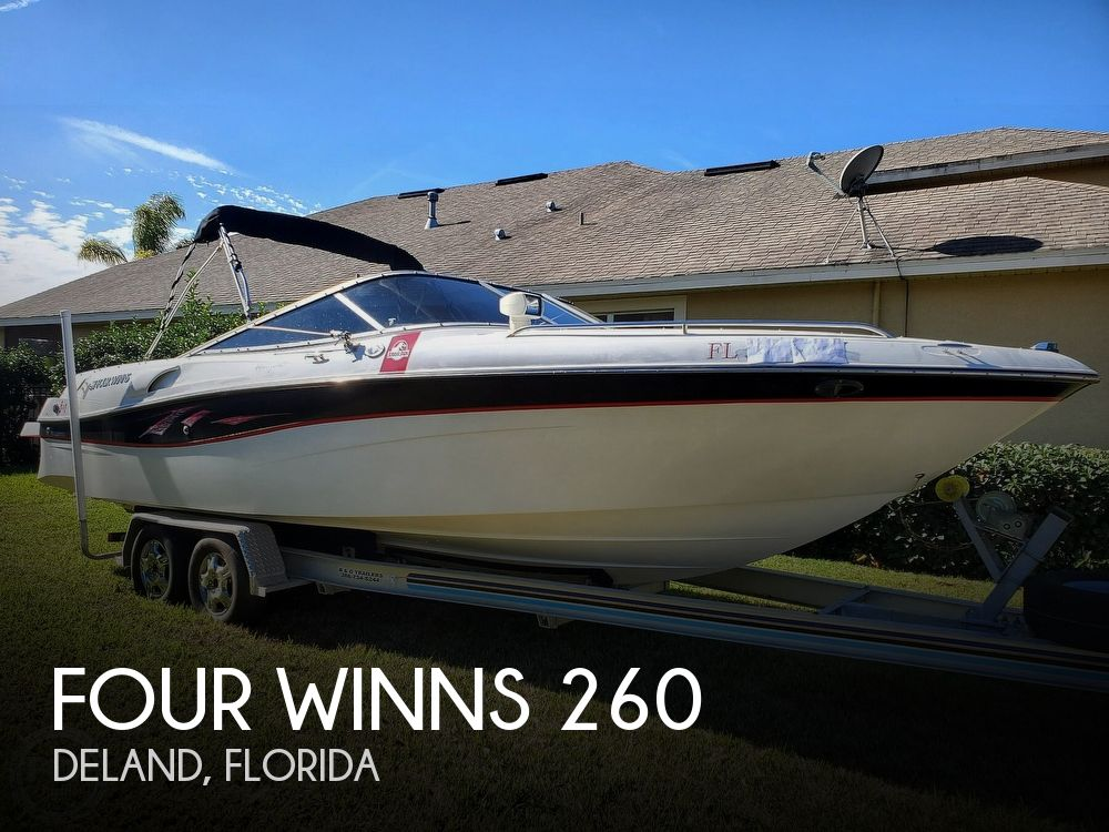 2001 Four Winns boat for sale, model of the boat is 260 Horizon & Image # 1 of 40