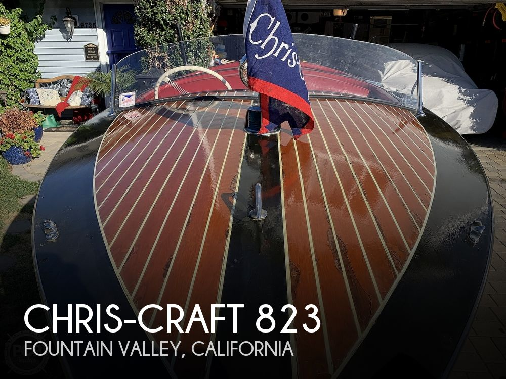 1938 Chris Craft boat for sale, model of the boat is 823 & Image # 1 of 40