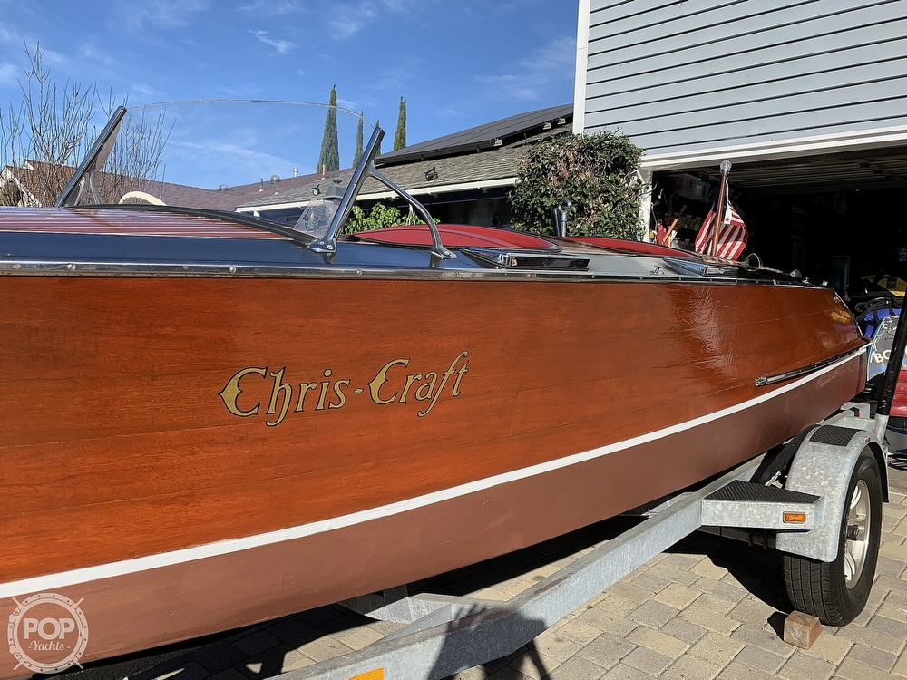 1938 Chris Craft boat for sale, model of the boat is 823 & Image # 2 of 40