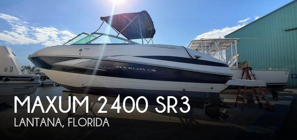 2007 MAXUM 2400 SR3 for sale
