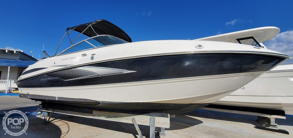 2007 Maxum boat for sale, model of the boat is 2400 SR3 & Image # 12 of 40