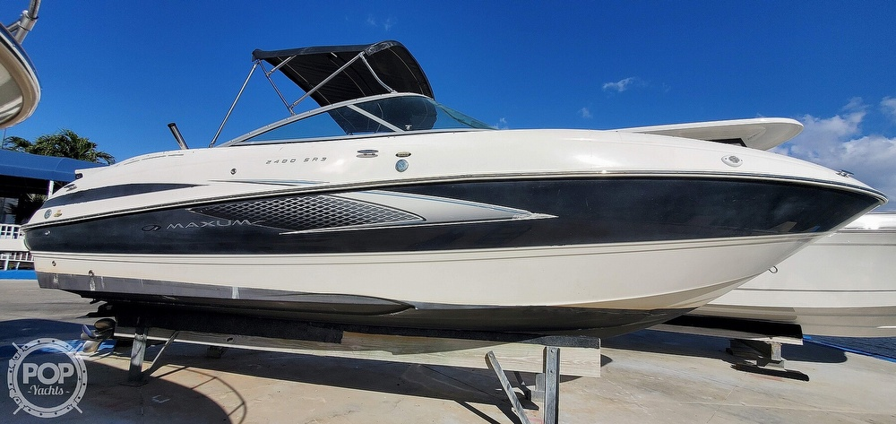 2007 Maxum boat for sale, model of the boat is 2400 SR3 & Image # 13 of 40