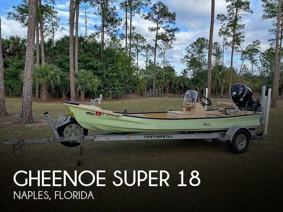 Used Gheenoe Boats For Sale by owner | 2019 Gheenoe Super 18
