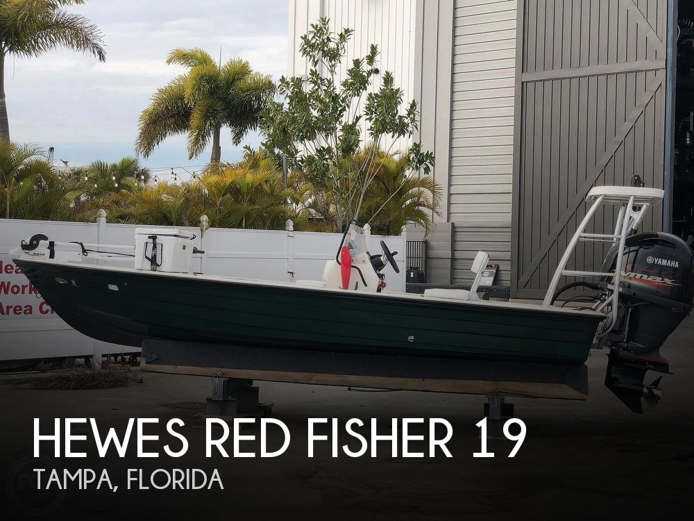 2000 Hewes boat for sale, model of the boat is Red fisher 19 & Image # 1 of 40