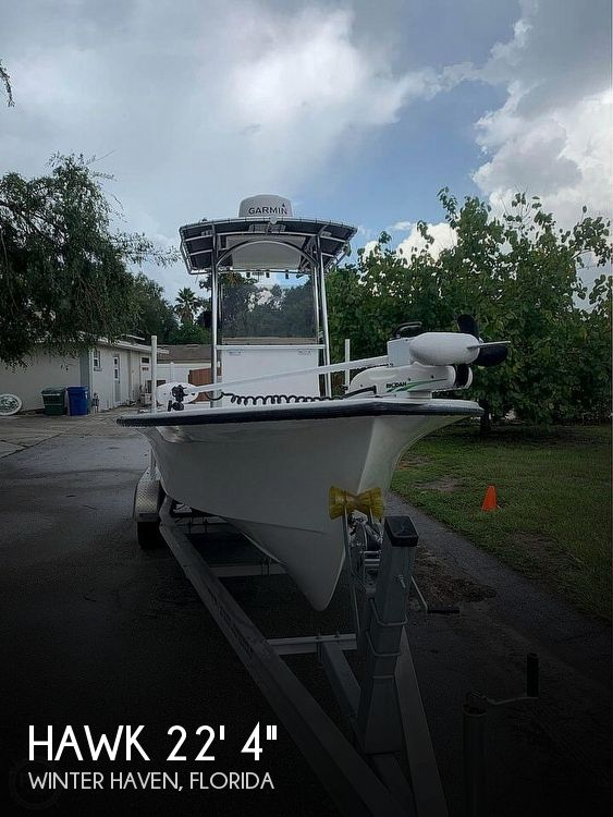 2017 Hawk boat for sale, model of the boat is 22' 4 & Image # 1 of 1