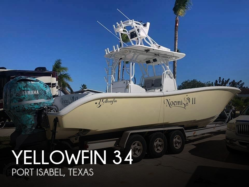 Used Boats For Sale in Brownsville, Texas by owner | 2009 Yellowfin 34