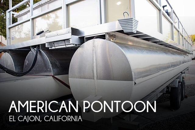 Used Pontoon Boats For Sale by owner | 2019 30 foot American Pontoon MAXXX