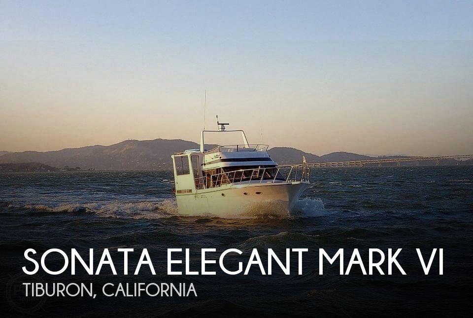 1988 Sonata Elegant Mark VI boat for sale, model of the boat is 49 & Image # 1 of 40