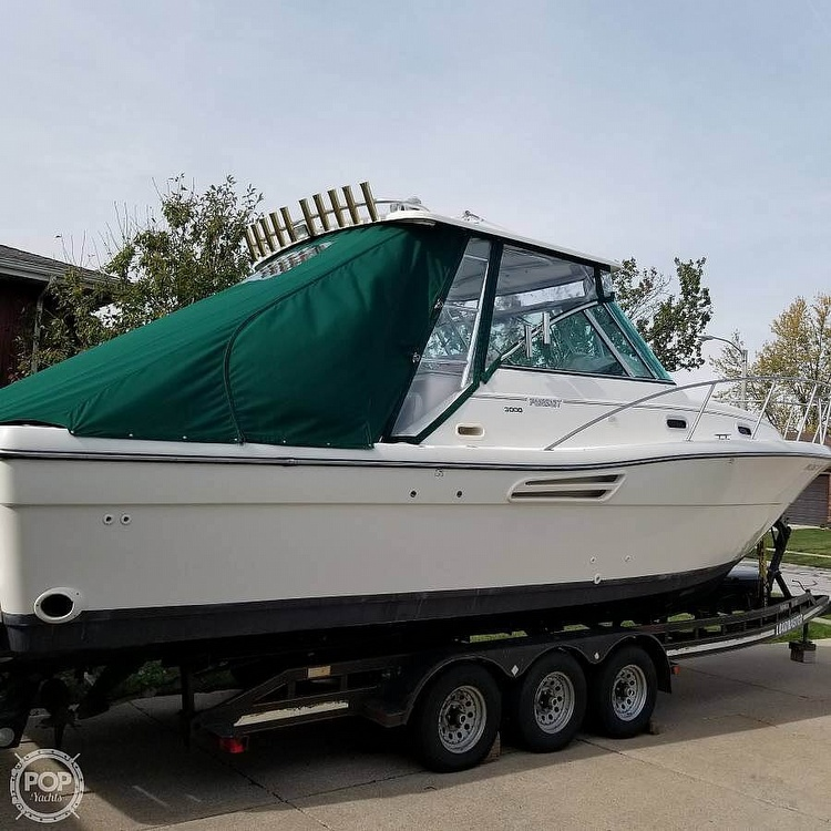 2001 Pursuit boat for sale, model of the boat is 3000 Express & Image # 3 of 40