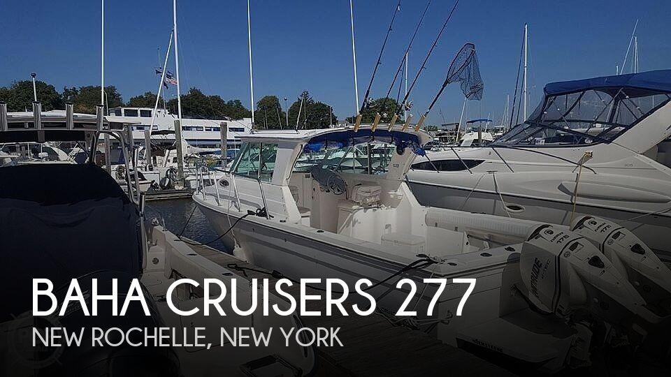 2011 Baha Cruisers boat for sale, model of the boat is 277 GLE & Image # 1 of 40