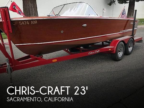 Used Chris-Craft Boats For Sale in California by owner | 1959 18 foot Chris-Craft Continental