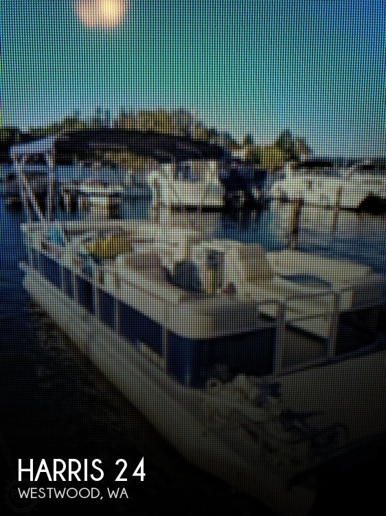 Used Harris Pontoon Boats For Sale by owner | 2000 Harris 24