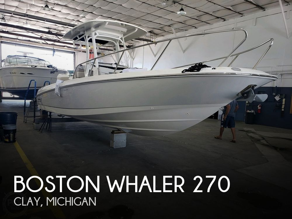 Used Boston Whaler Boats For Sale by owner | 2020 Boston Whaler 270 Dauntless
