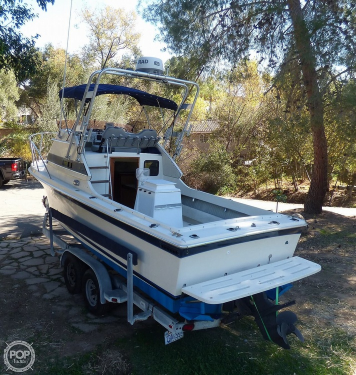 1989 Skipjack boat for sale, model of the boat is 24 Flybridge Sportfisher & Image # 9 of 40