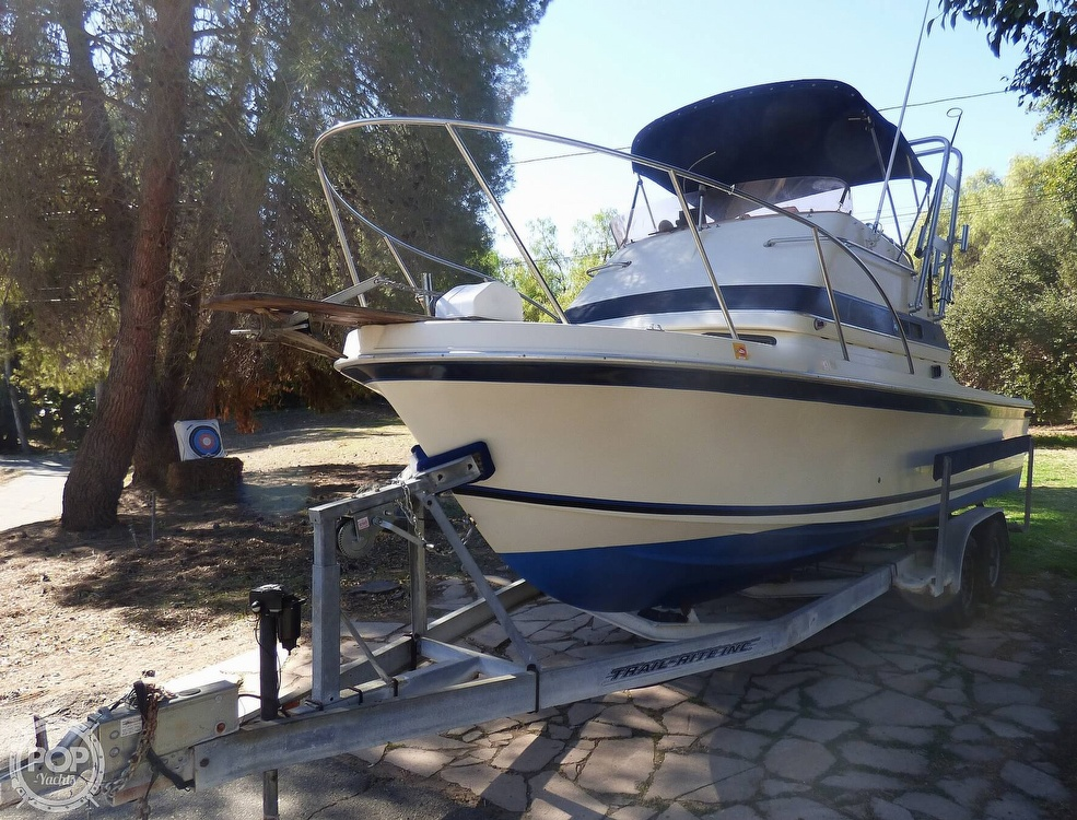 1989 Skipjack boat for sale, model of the boat is 24 Flybridge Sportfisher & Image # 10 of 40