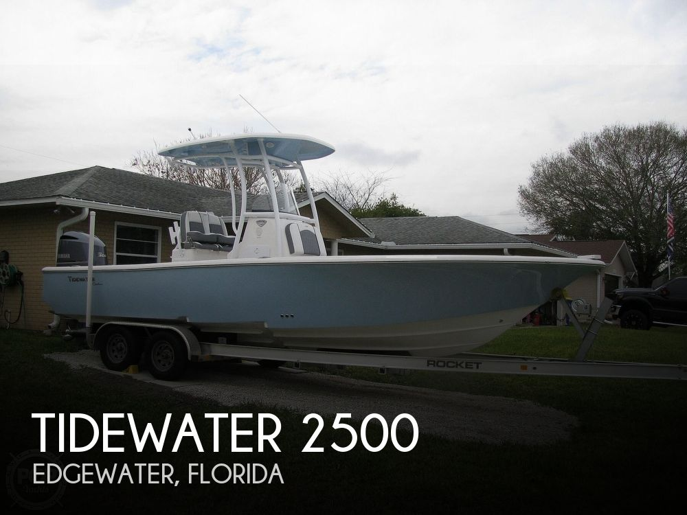 2018 Tidewater boat for sale, model of the boat is 2500 Carolina Bay & Image # 1 of 40