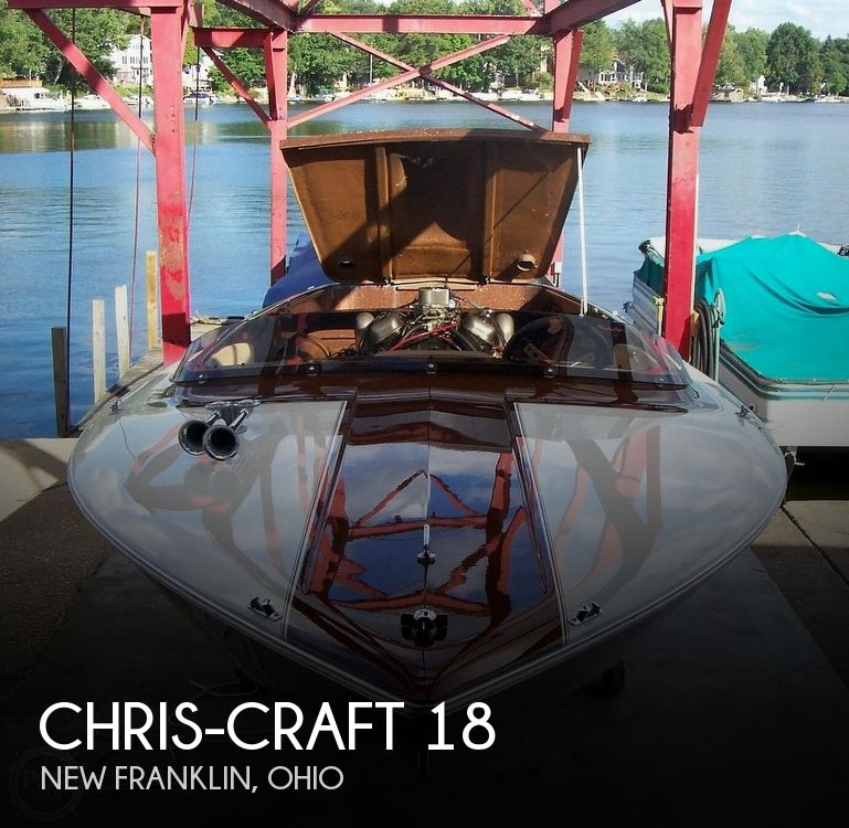 Used Chris Craft Boats For Sale in Ohio by owner | 1972 Chris-Craft XK18
