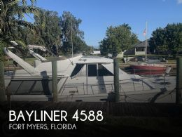 1990 Bayliner 4588 Pilothouse MY