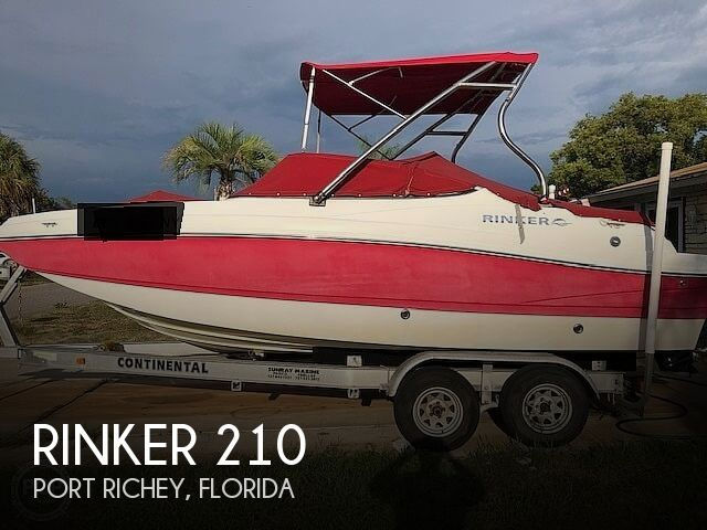 Used Rinker 210MTX Boats For Sale by owner | 2009 Rinker 210MTX