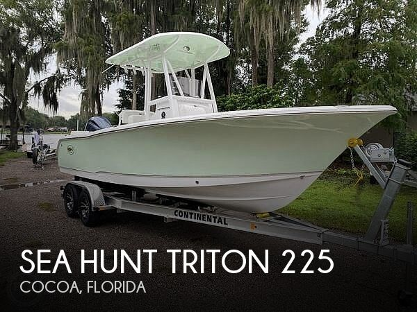 Used Sea Hunt 22 Boats For Sale by owner | 2021 Sea Hunt Triton 225
