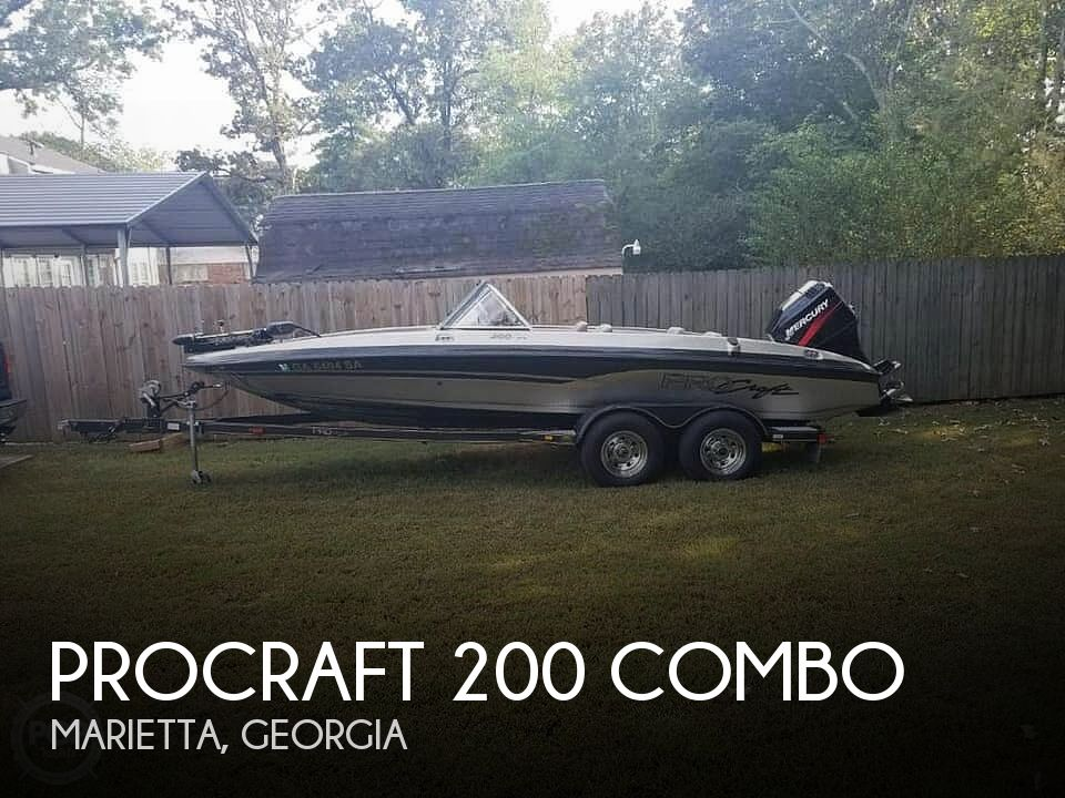 Used Procraft Boats For Sale by owner | 2002 ProCraft 200 Combo