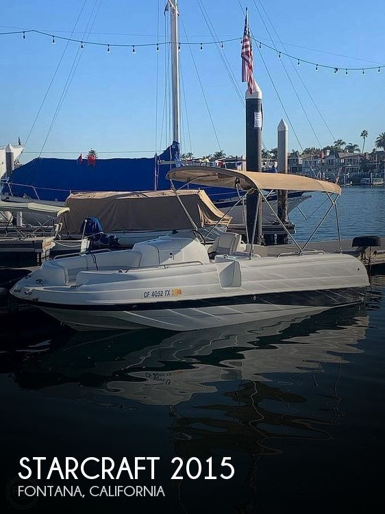 Used Starcraft Deck Boats For Sale by owner | 2002 Starcraft Aurora 2015