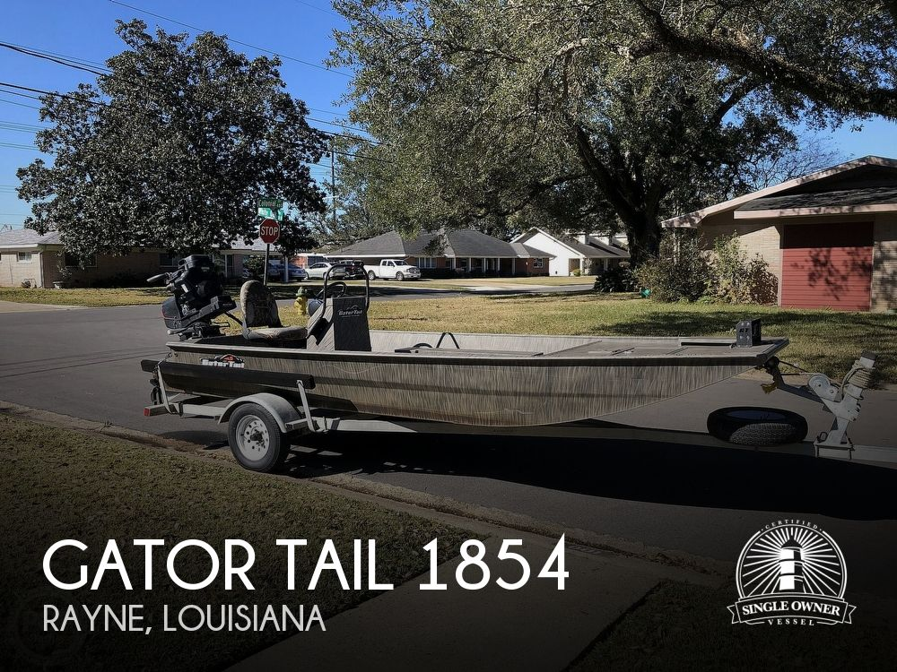 2018 Gator Tail boat for sale, model of the boat is 1854 & Image # 1 of 41