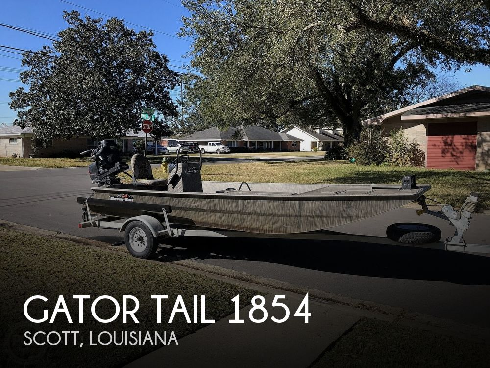 Used Gator Tail Boats For Sale by owner | 2018 Gator Tail 1854