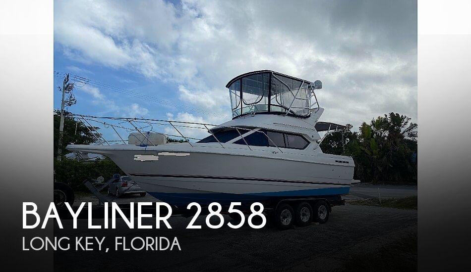 1998 Bayliner boat for sale, model of the boat is 2858 Ciera CB & Image # 1 of 2